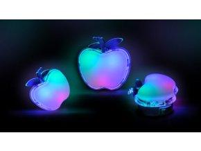 Led Noční Světélko, Jablko, Rgb
