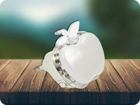 3459 3 led nocni svetelko jablko rgb