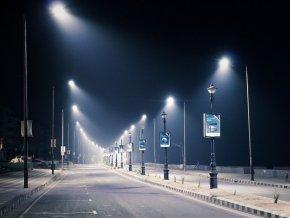 Led Veřejné Osvětlení So Senzorem 120W (9600Lm), Šedé  + Zdarma záruka okamžité výměny!