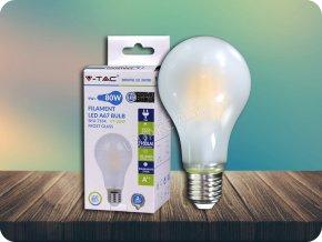 E27 Led Filament Žárovka 9W, A67, 1100 Lm (Barva světla Studená bílá)