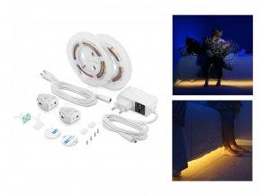 Led Pás 3W S Pohybovým Senzorem Pod Manželskou Postel (Barva světla Neutrální bílá)