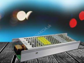 3993 1 kovovy napajeci adapter pro led pasiky 150w 12 5a
