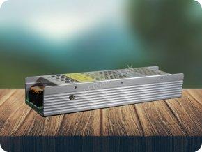 3996 1 kovovy napajeci adapter pro led pasiky 120w 10a