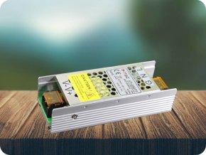 4002 1 kovovy napajeci adapter pro led pasiky 75w 6a