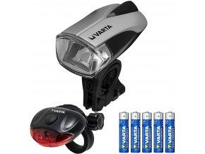 4098 varta 3 watt led bike light set