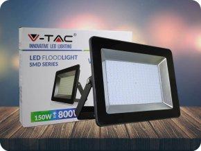 LED REFLEKTOR, I - SERIES, 150W, 12750 LM, ČERNÝ (Barva světla Studená bílá)