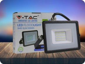 LED REFLEKTOR 20W, SAMSUNG CHIP, 1600LM, ČERNÝ, ZÁRUKA - 5 LET! (Barva světla Studená bílá)