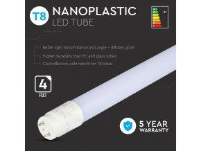 LED TRUBICE T8, 18W, 120 CM, G13, (1700LM), SAMSUNG CHIP- ZÁRUKA 5 LET! (Barva světla Studená bílá)