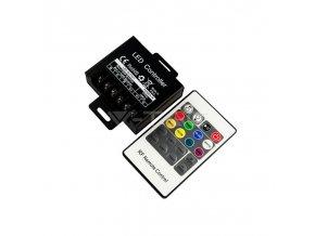 LED RGB OVLADAČ / stmívač, 3 kanály  + Zdarma záruka okamžité výměny!