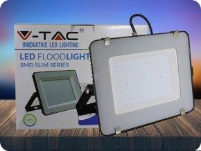 LED REFLEKTOR 150W, SAMSUNG CHIP,12000LM, ČERNÝ, ZÁRUKA 5 LET! (Barva světla Studená bílá     6400K)