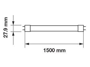 LED TRUBICE T8, 22W, 150 CM, G13, (3000 LM),VYSOKOSVÍTIVÁ, SAMSUNG CHIP- ZÁRUKA 5 LET! (Barva světla Neutrální bílá)