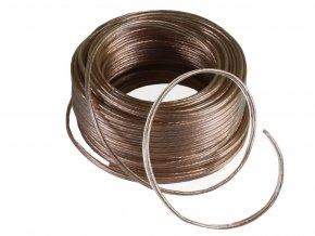 5181 1 kabel cca dvojlinka transparentni 2x0 75mm 1m