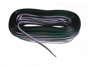 Kabel, RGB+W, 5x0,45mm, 1m  + Zdarma záruka okamžité výměny!