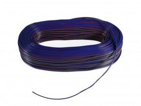 Kabel, RGB, 4-žílový, 4x0,35mm, 1m  + Zdarma záruka okamžité výměny!