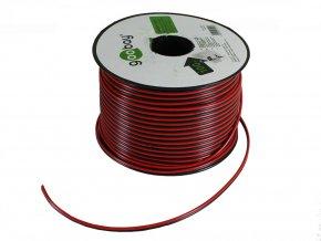 Kabel, Dvojlinkový, B/R, 2x0,75mm, 1m  + Zdarma záruka okamžité výměny!