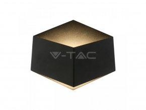 Nástěnné LED svítidlo, černé, 300lm,3W  + Zdarma záruka okamžité výměny!