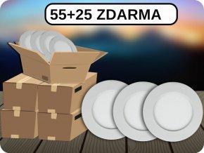 Led Panel 6W, Kulatý (420Lm), 55+25 ZDARMA (Barva světla Studená bílá)