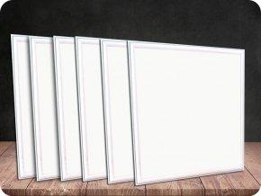LED PANEL 45W, 60X60 CM, (3600 LM)-SAMSUNG CHIP, ZÁRUKA 5 LET, 6PACK! (Barva světla Studená bílá)