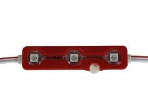 LED MODUL 0.72W, 3 LED, ČERVENÝ, IP67  + Zdarma záruka okamžité výměny!