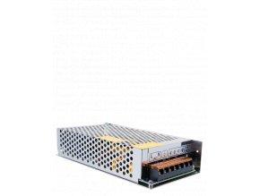 617 1 kovovy napajeci adapter pro led pasky 150w 12 5a 2 kanal