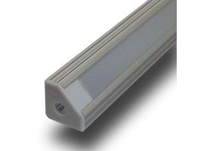 Hliníkový Profil 1 M Pro Led Pás Šířky 8 A 10 Mm - Rohový 90⁰  + Zdarma záruka okamžité výměny!