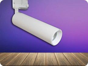 Kolejnicové LED SVÍTIDLO 7W, 490LM, BÍLÉ, SAMSUNG CHIP (Barva světla Studená bílá)