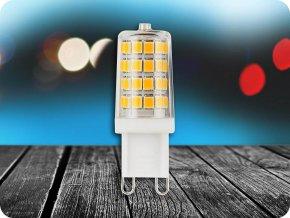 G9 LED ŽÁROVKA, 3W, (300LM) - SAMSUNG CHIP - ZÁRUKA 5 LET (Barva světla Studená bílá)