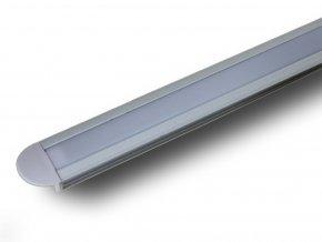 Hliníkový Profil 2 M Pro Led Pásy, 24,5 x 12,2mm  + Zdarma záruka okamžité výměny!
