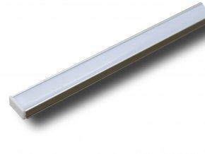 Hliníkový Profil 2 M Pro Led Pásy,17,4x 7mm  + Zdarma záruka okamžité výměny!