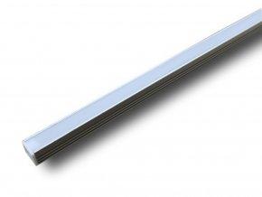 Hliníkový Profil 2 M Pro Led Pásy,17,4x 12,1mm  + Zdarma záruka okamžité výměny!