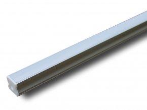 Hliníkový Profil 2 M Pro Led Pásy,17,2 x 15,5mm  + Zdarma záruka okamžité výměny!