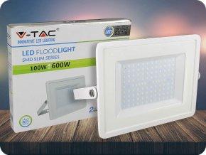 Led Reflektor 100W, 8500 lm, Bílý (Barva světla Studená bílá)