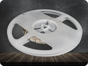 LED PÁSEK 4W/M (300 LM/M), 60 LED/M, 12V, IP20 (Barva světla Studená bílá      6400K)
