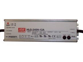 HLG-240H-12A MEAN WELL LED ZDROJ, IP65  + Zdarma záruka okamžité výměny!