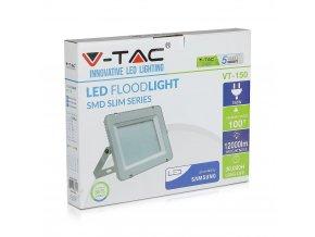 LED REFLEKTOR 150W, SAMSUNG CHIP, 12000LM, ŠEDÝ
