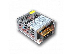 740 1 kovovy napajeci adapter pro led pasky 25w 2 1a