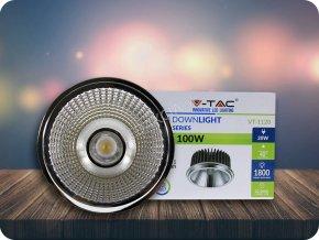 LED COB ZAPUŠTĚNÁ ŽÁROVKA 20W, AR111, 40 ° (Barva světla Studená bílá)