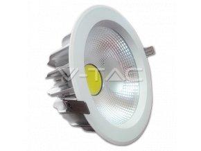 COB LED ZAPUŠTĚNÉ SVÍTIDLO 40W (Barva světla Studená bílá)