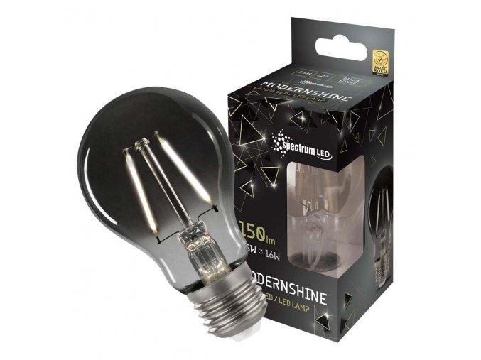 LED žiarovka  MODERNSHINE SPECTRUM, A60, E27, 2.5W, 150LM