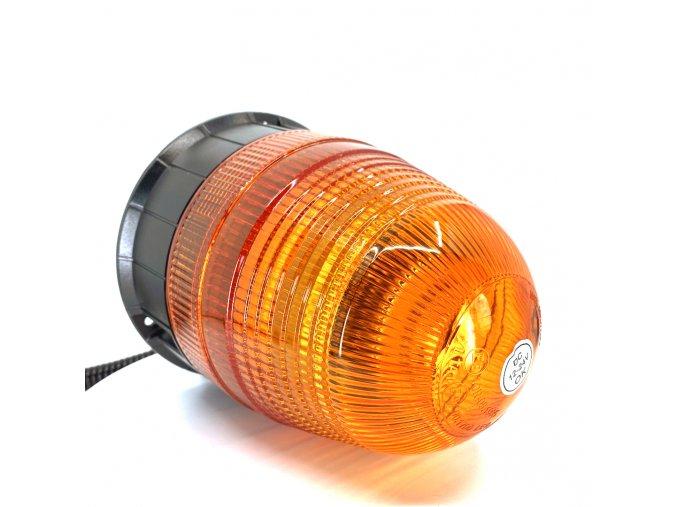 LED výstražný maják s magnetom 16x3W, 12-24V, oranžový  + Zdarma záruka okamžitej výmeny !