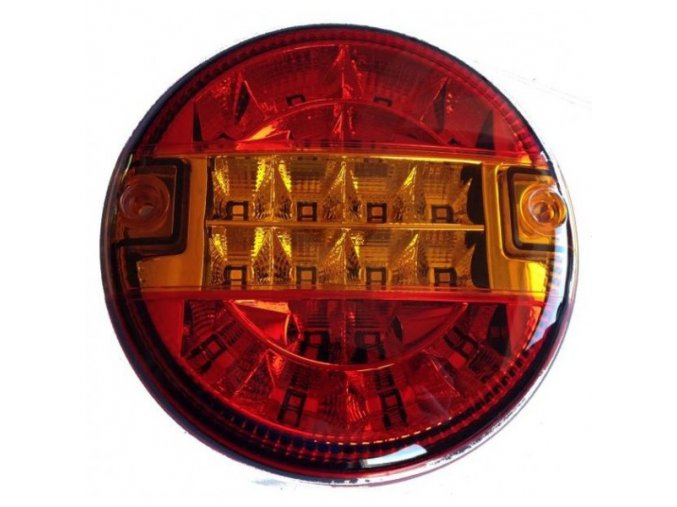 Zadné 20xLED svetlo na kamión, 12-24V, ľavé / pravé