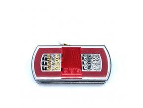 Zadné 27xLED svetlo na kamión, 12-24V, ľavé