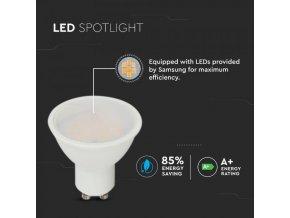 GU10 LED žiarovka 10W (1000Lm), 110°, SAMSUNG chip