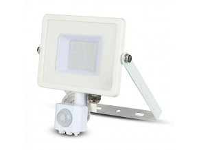 30W LED reflektor so senzorom SMD, SAMSUNG chip, biely