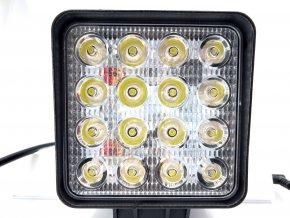 LED Epistar pracovné svetlo 48W (3071lm), 9-32V, IP67, 1+1 ZADARMO!