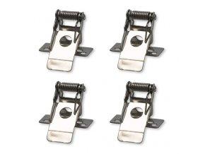 Solight montážne klipy pre inštaláciu LED panelov do podhľadov, 4ks