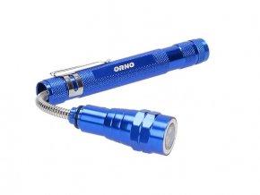 Teleskopická pracovná LED baterka s magnetom, 17-57cm, 4xLR44