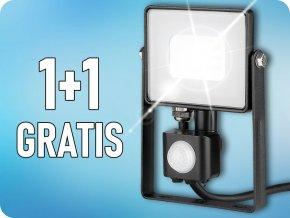 10W LED reflektor so senzorom SMD, SAMSUNG chip, 1+1 zadarmo!