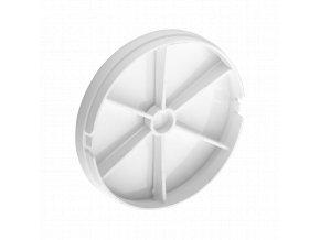 ORNO Spätný ventil pre kúpeľňové ventilátory