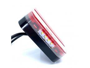 LED Zadné svetlo 12/24 V  + Zdarma záruka okamžitej výmeny !